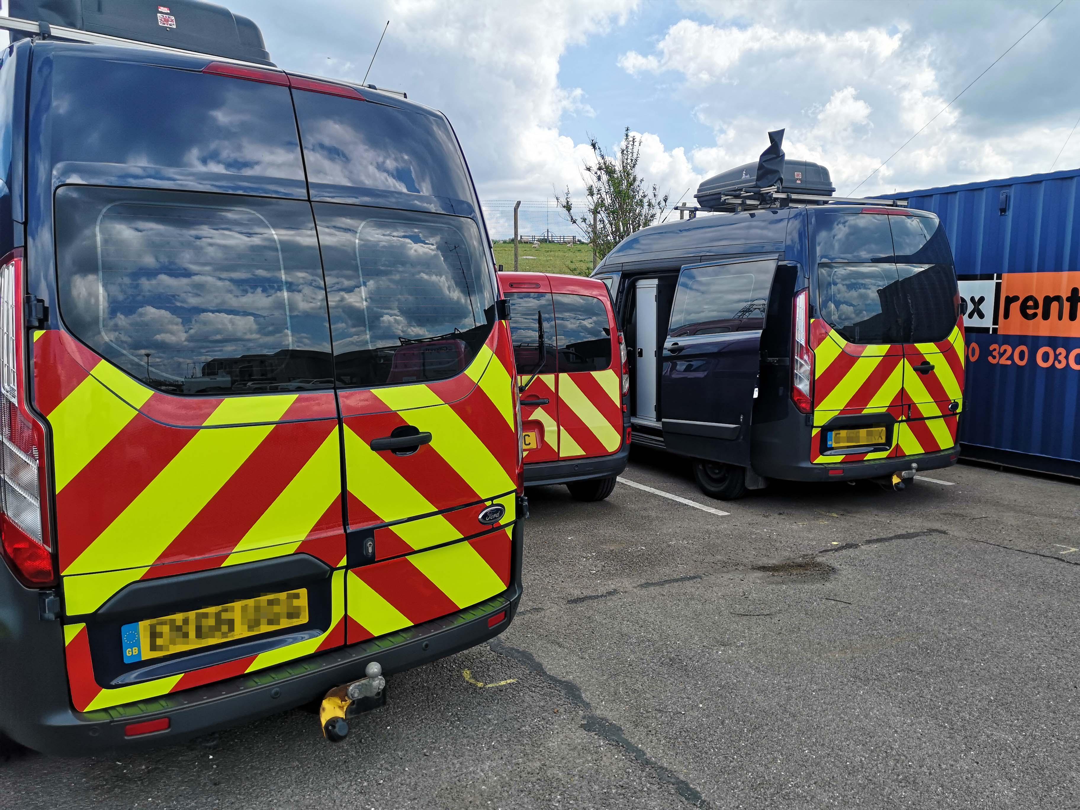 Safety Marking Fleet Branding for Ofcom