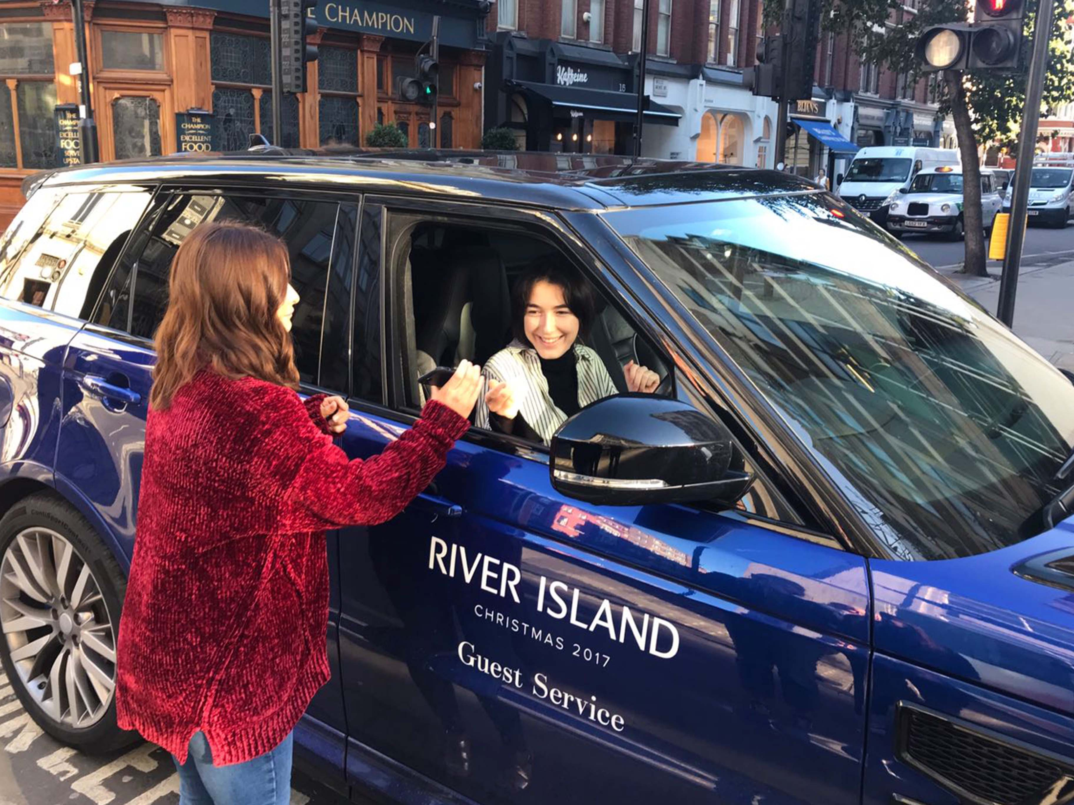 Vinyl Graphics for River Island Press Event