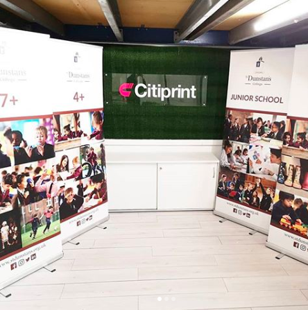 Roller Banner Printing in London 24/7 Same Day