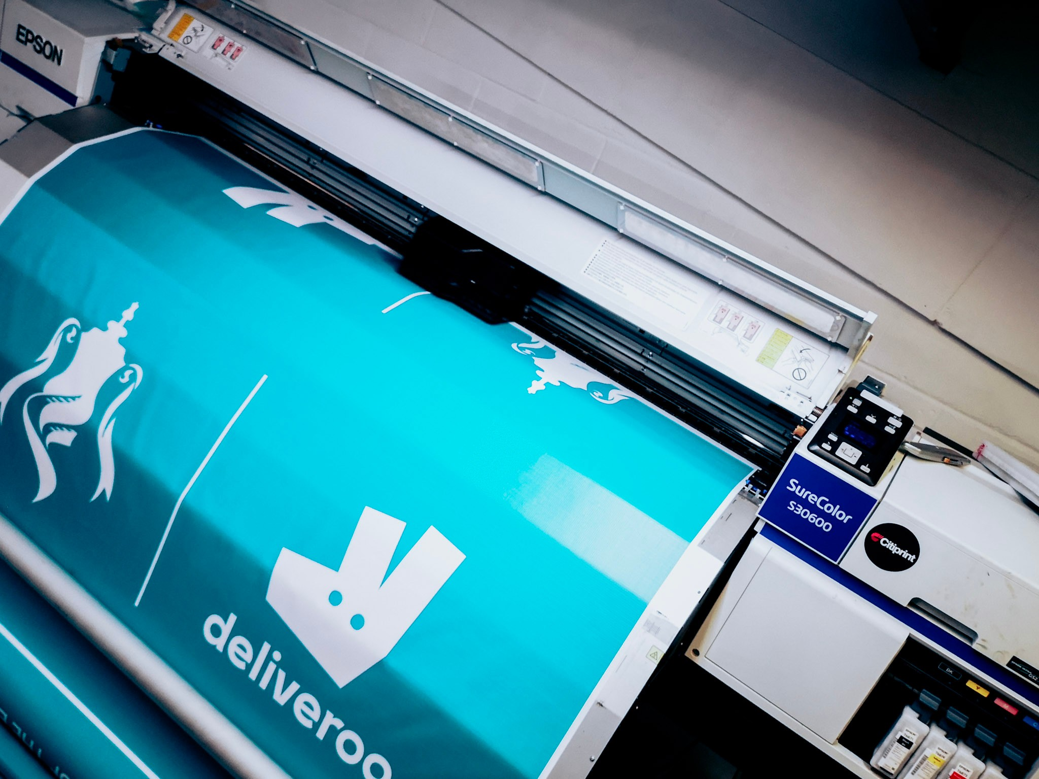 Same Day Vinyl Printing London by Citiprint